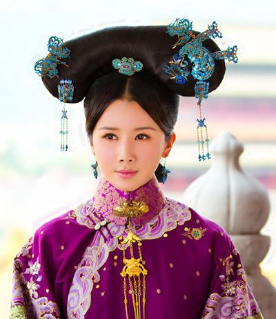 《宫锁珠帘》热播杨幂孙菲菲6位妃嫔装扮PK